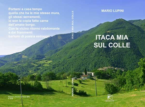 Copertina della raccolta di poesie Itaca mia sul colle