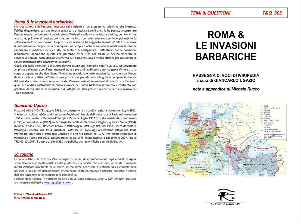 Copertina Roma e le invasioni barbariche