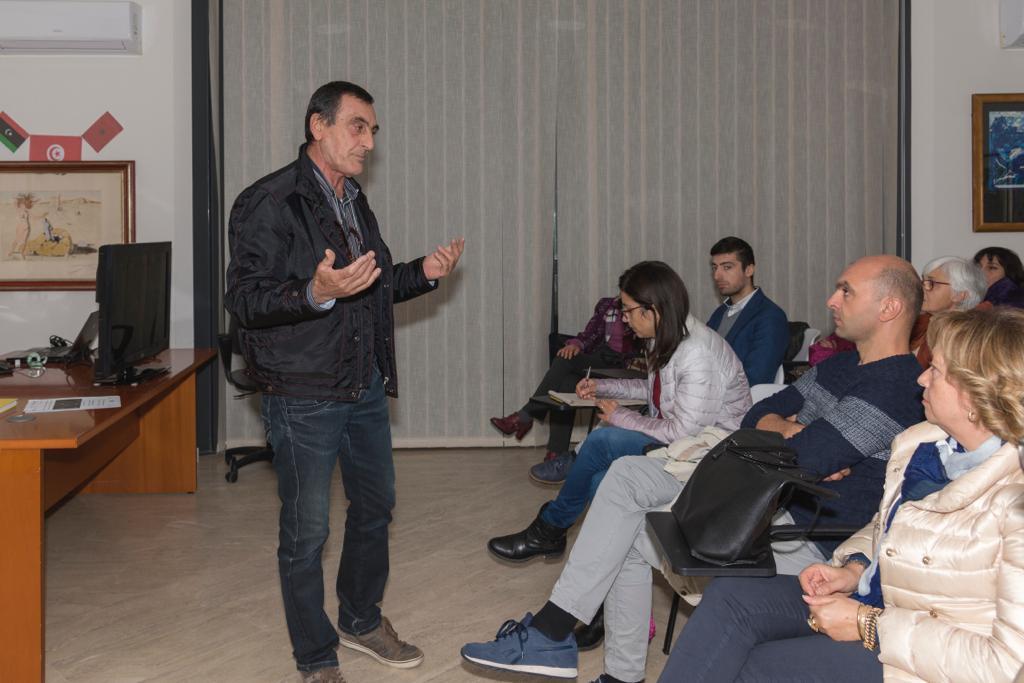 Il prof. Mario Lupini