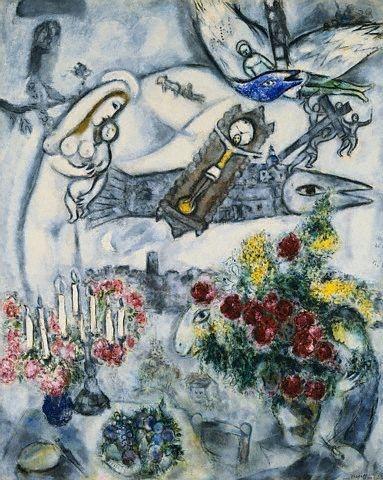 Chagall Natività