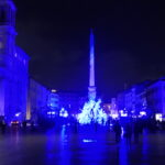 La magia delle luci di Piazza Navona